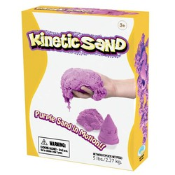 Kinetic Sand - 5lb Box - Purple