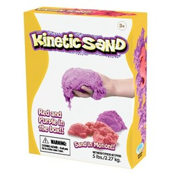 Kinetic Sand - 5lb Box - Red & Purple