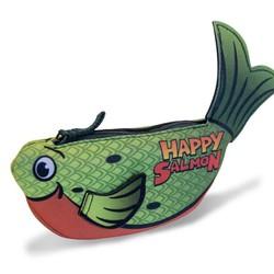 Happy Salmon - Green Fish