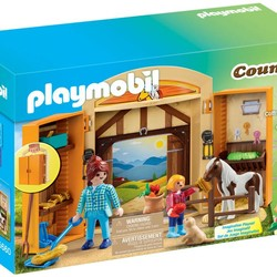 Pony Stable Play Box