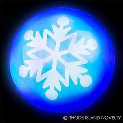 "2"" Flashing Snowflake Ball"