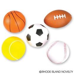 "3.5"" Foam Sports Ball Assorted Styles"