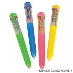 10 Color Shuttle Pen