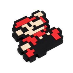 Silicone Teether - Nintendo 8 Bit Super Mario