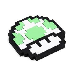 Silicone Teether - Nintendo 8 Bit Green Mushroom