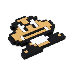 Silicone Teether - Nintendo 8 Bit Goomba