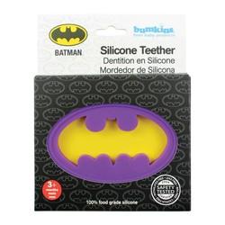 Silicone Teether - DC Comics Batman Purple