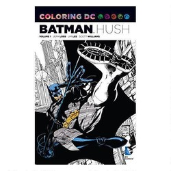 Batman: Hush - Adult Coloring Book