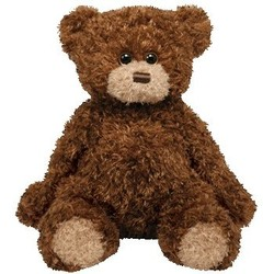 Beanie Babies Classic - Shaggy Brown Bear - Medium 13""