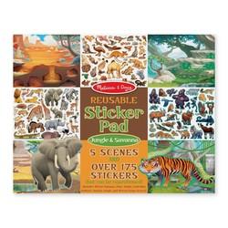 Reusable Sticker Pad - Jungle and Savanna