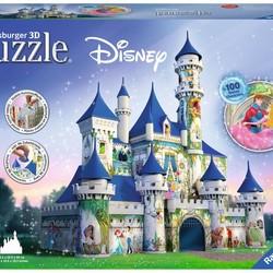 3D Disney Castle - 216 Pieces