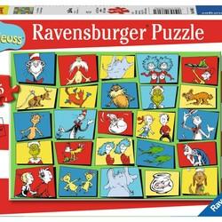Dr. Seuss Characters - 35 Piece Puzzle