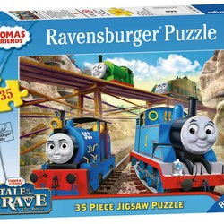 Thomas the Train Tale of the Brave - 35 Piece Puzzle