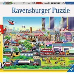 Busy Neighborhood - 60 Piece Puzzle