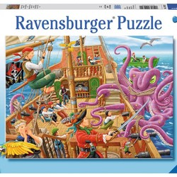 Pirate Boat Adventure - 100 Piece Puzzle
