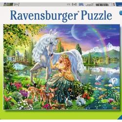 Gathering at Twilight - 200 Piece Puzzle