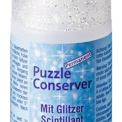 Puzzle Conserver with Glitter