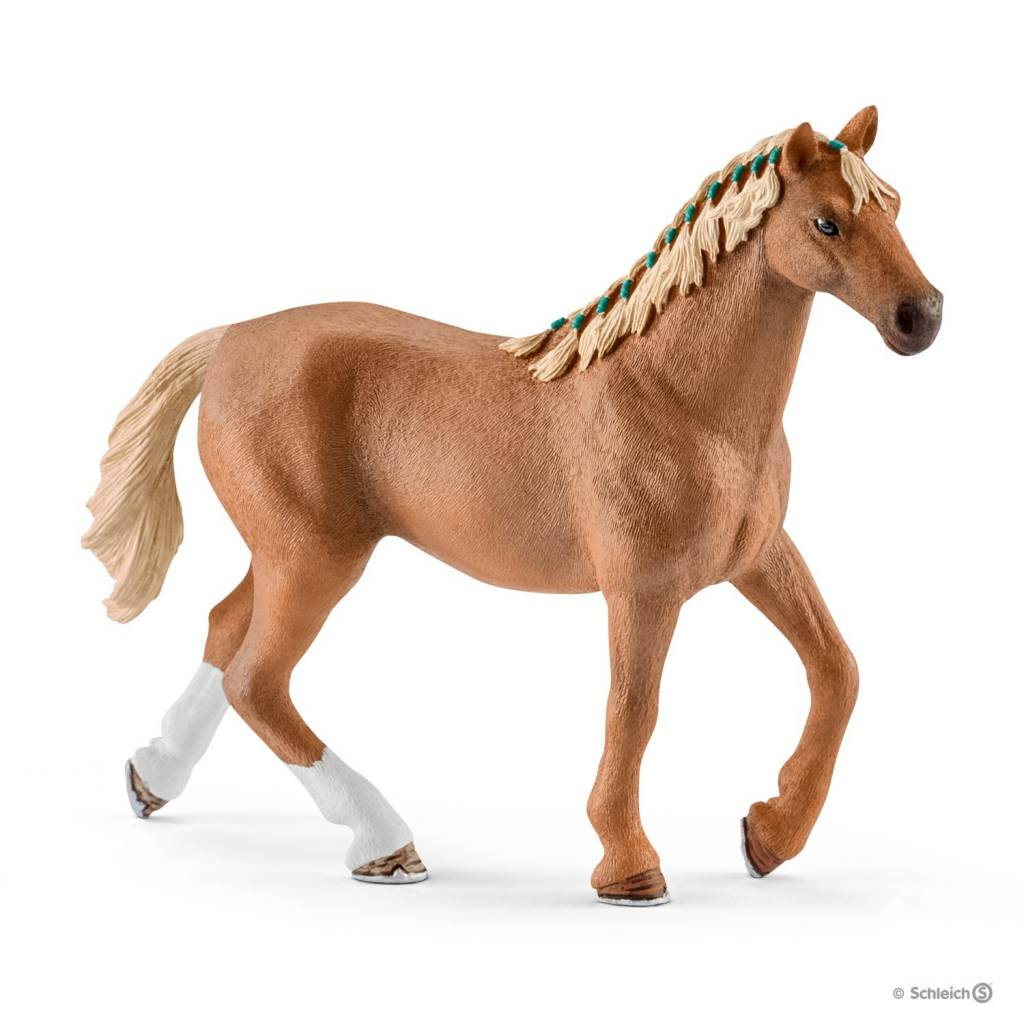 Animals & Dinosaurs Arab Mare Horse Toy Figure With Blanket Action Figures Schleich Horse Club