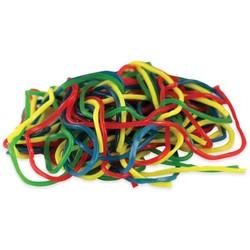 Bulk - Gustaf's Rainbow Laces - 2 lb Bag