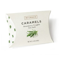 Pillow Box - Rosemary Truffle Sea Salt Caramels
