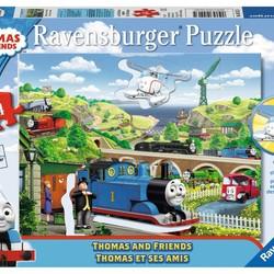 Thomas & Friends - 64 Piece Puzzle Shaped