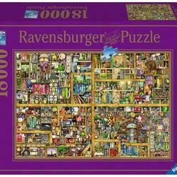 Magical Bookcase - 18000 Piece Puzzle