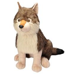 """Cuddlekins 30"""" - Little Biggies Wolf"""