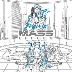 Mass Efect Adult Coloring Book