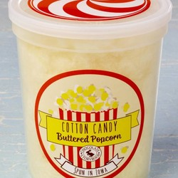 Gourmet Cotton Candy - Buttered Popcorn