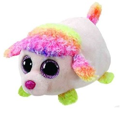 Teeny Tys - Floral Rainbow Poodle