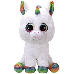 Beanie Boos - Pixy Unicorn White - Large 20""