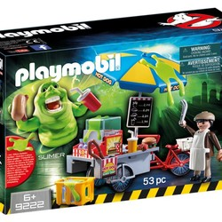 Ghostbusters - Slimer with Hot Dog Stand