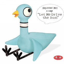 "Pigeon 11.5"" Soft Toy with Voice!"