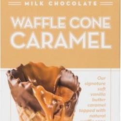 CCC Milk Chocolate Waffle Cone Caramel Bar