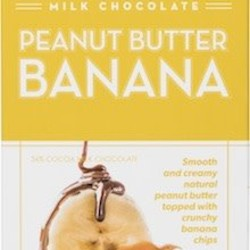 CCC Dark Chocolate Peanut Butter Banana Bar