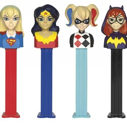 Pez Assortment - DC - Girls' Superhero
