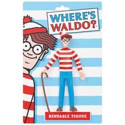 "Where's Waldo? 5.5"" Bendable Figure"