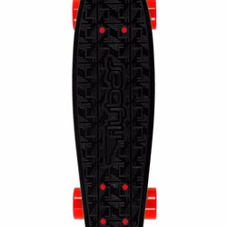 "22"" FlyBar Skateboard - Black/Red"