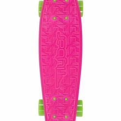 """22"""" FlyBar Skateboard - Pink/Green"""