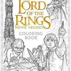 The Lord of the Rings: Movie Trilogy Coloring Book