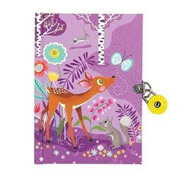 Locked Diary - Forest Friends