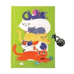 Locked Diary - Cats