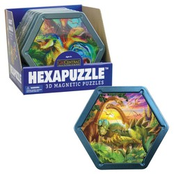 Hexapuzzles - Dinosaur