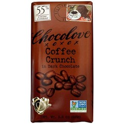 Coffee Crunch in Dark Chocolate 3.2 oz Bar
