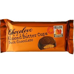 Almond Butter Cups Dark Chocolate 1.2 oz (2 Cups)