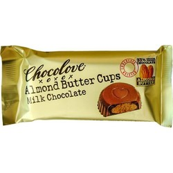 Almond Butter Cups Milk Chocolate 1.2 oz (2 Cups)