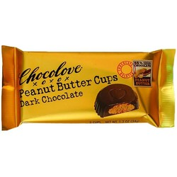 Peanut Butter Cups Dark Chocolate 1.2 oz (2 Cups)