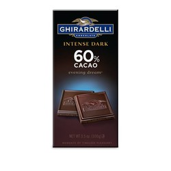 Dark Chocolate 60% Cacao Bar 3.5 oz.