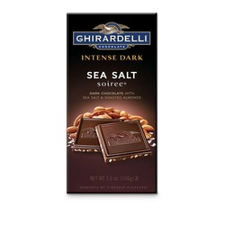 Dark Chocolate Sea Salt Roasted Almond Bar 3.5 oz.