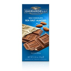 Milk Chocolate Sea Salt Almond Bar 3.5 oz.